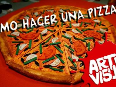 ARTE VISUAL - CÓMO HACER UNA PIZZA