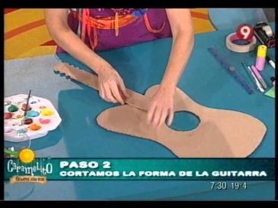Caramelito siempre con vos - EP 9 - Taller - Guitarra multicolor