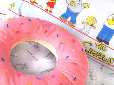Como hacer Cojín Donut | DIY