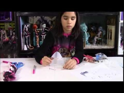 Como Hacer sillas para Monster High