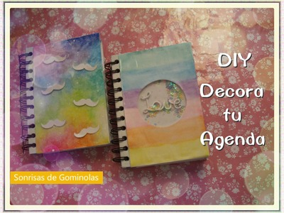 ✎DIY Decora tu Agenda (Back To School.Vuelta A Clase) ♥2014 *SG