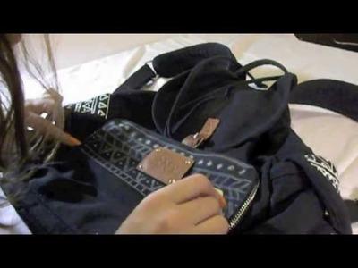 DIY diseña y pinta tu mochila + Estilo aztec
