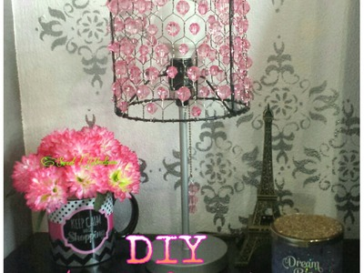 DIY Lámpara Decorativa. Decorative Lamp