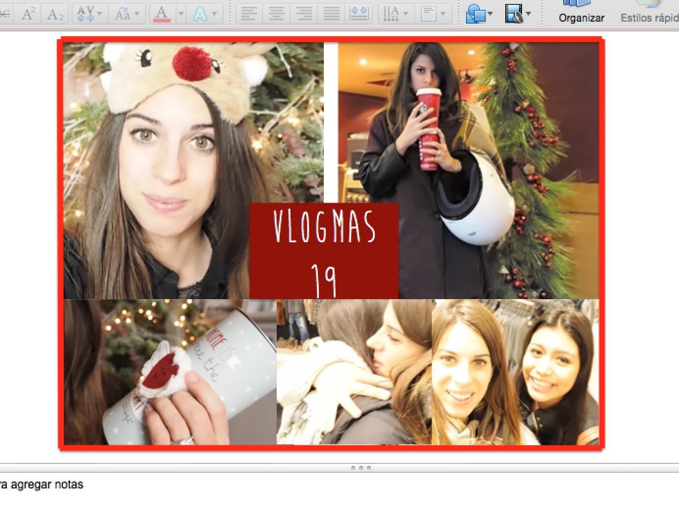 Encuentro & ideas para regalar en navidad | Vlogmas 19