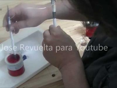 Pintura por inmersión para manualidades