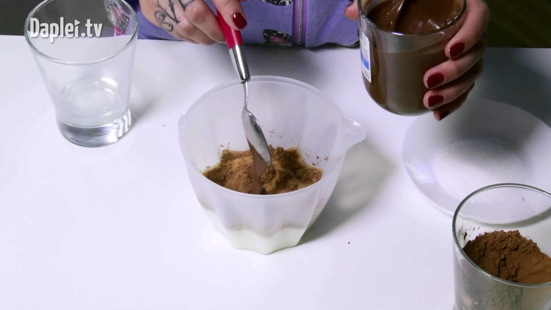 Prepara un Dulce Y Rico Chocolate Con Nutella