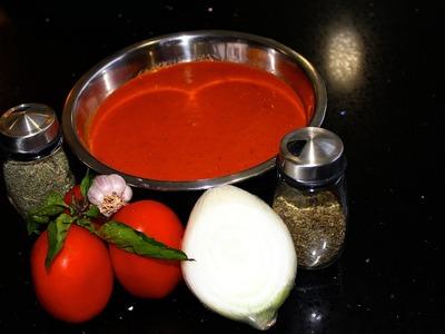 Receta de salsa para pizza y pasta - La receta de la abuelita