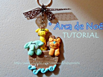 Animalitos de porcelana fria - Llaveros Baby shower-