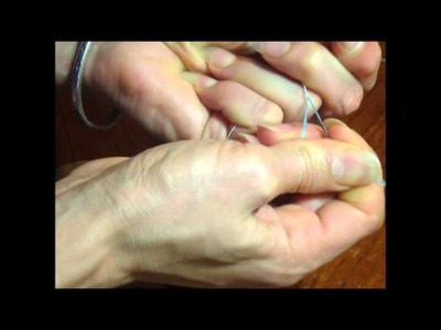 Bency como hacer el fleco de o con canutillo 3ra parte