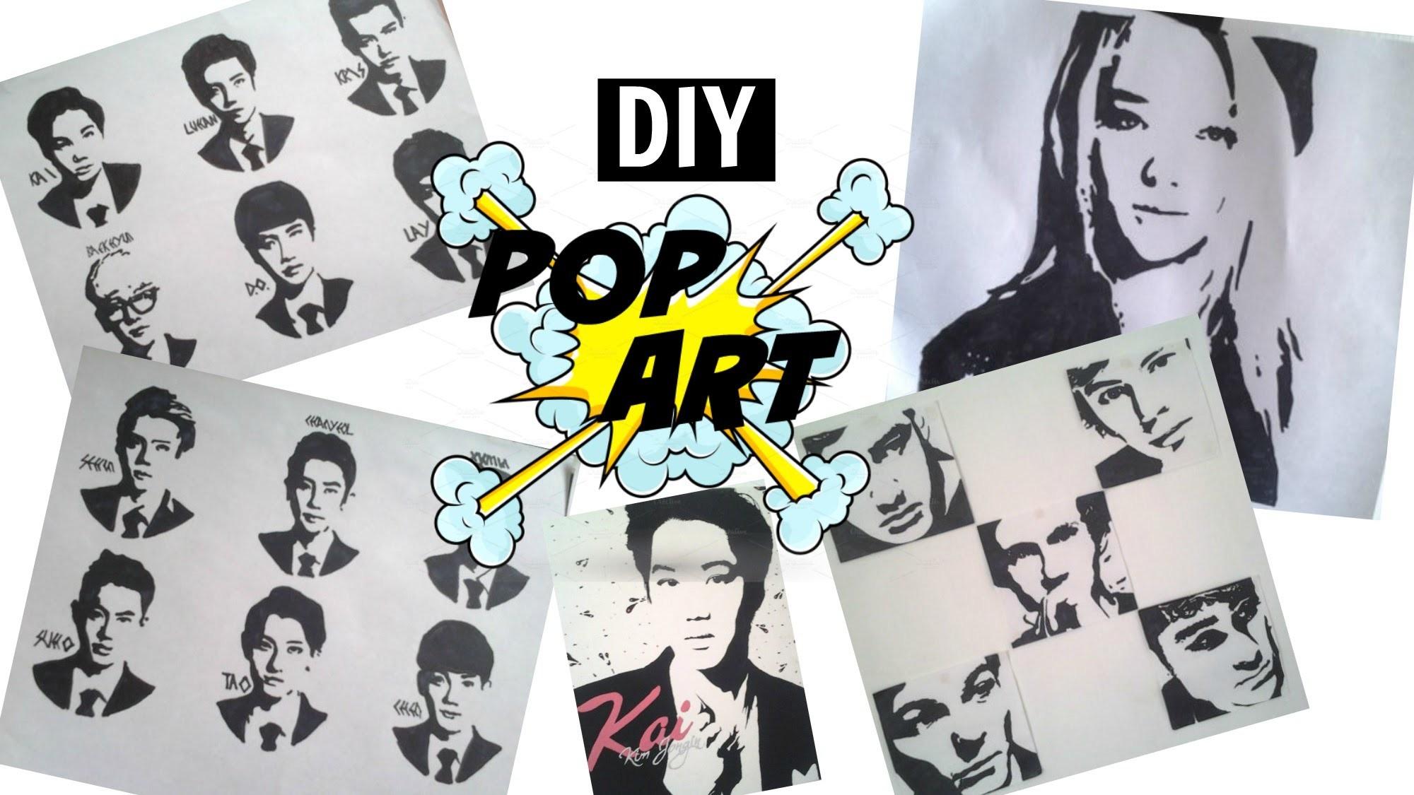 ¡Como hacer un pop art de tu artista favorito!