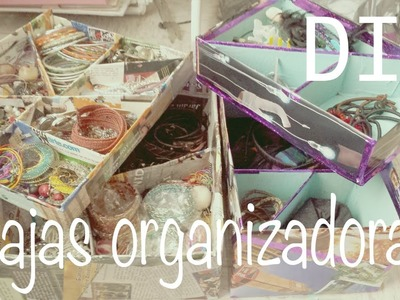 ☁ Cajas organizadoras ♥ Organiza tu maquillaje, accesorios y joyería♥