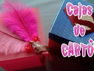 Cómo hacer cajas de cartón corrugado - Candy Bu
