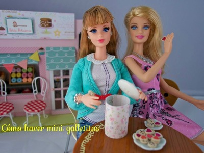 Cómo hacer galletas para muñecas