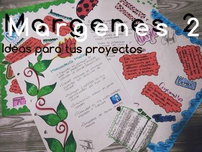 Como Hacer Margenes Para Tus Cuadernos 2 Facil !!
