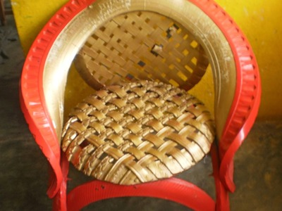 Como reciclar llantas usadas (sillas)