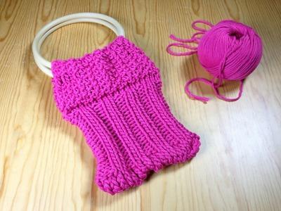 Cómo tejer un bolsito con telar (Tutorial DIY)