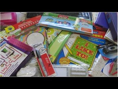 Compras de materiales para Escuela en Casa