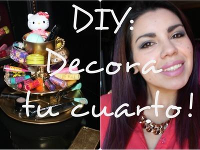 DIY: Decora tu cuarto ! ♡ ♥