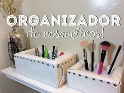 DIY-Organizador de Cosmeticos!