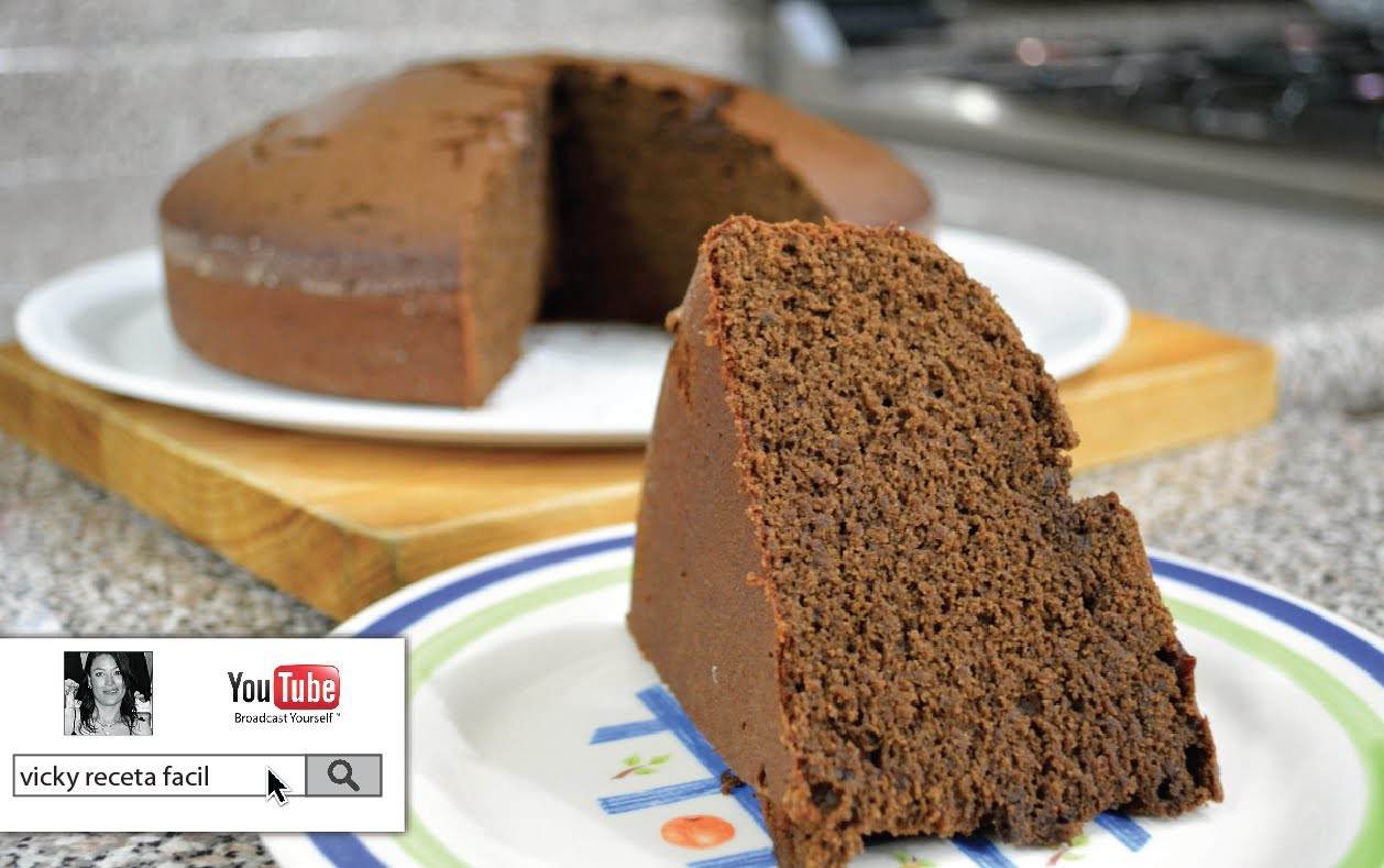 PAN DE CHOCOLATE | Vicky Receta Facil