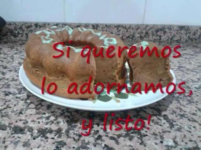 Pastel especiado de calabaza (Pumpkin walnut cake).wmv