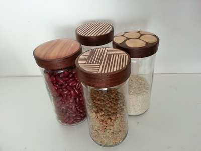 RECICLAJE 1. como decorar envases de vidrio. how to decorate glass containers