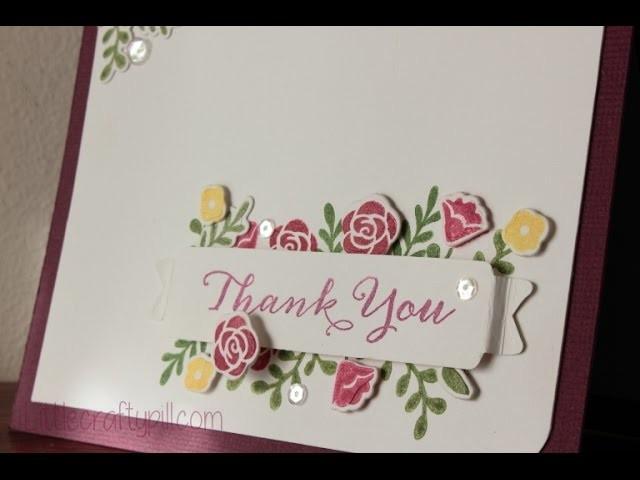 Tarjeta de agradecimiento. Thank you card