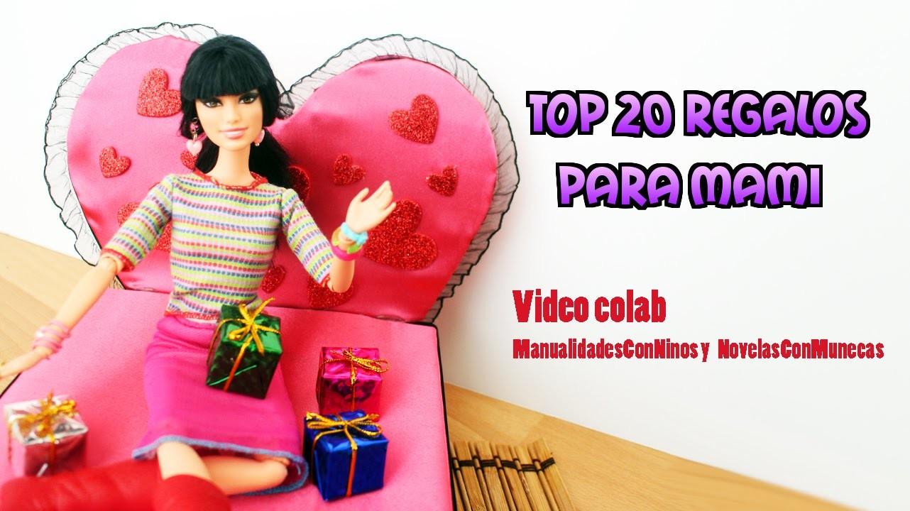 Top 20 regalos para el dia de las madres - Collab con Novelas con muñecas