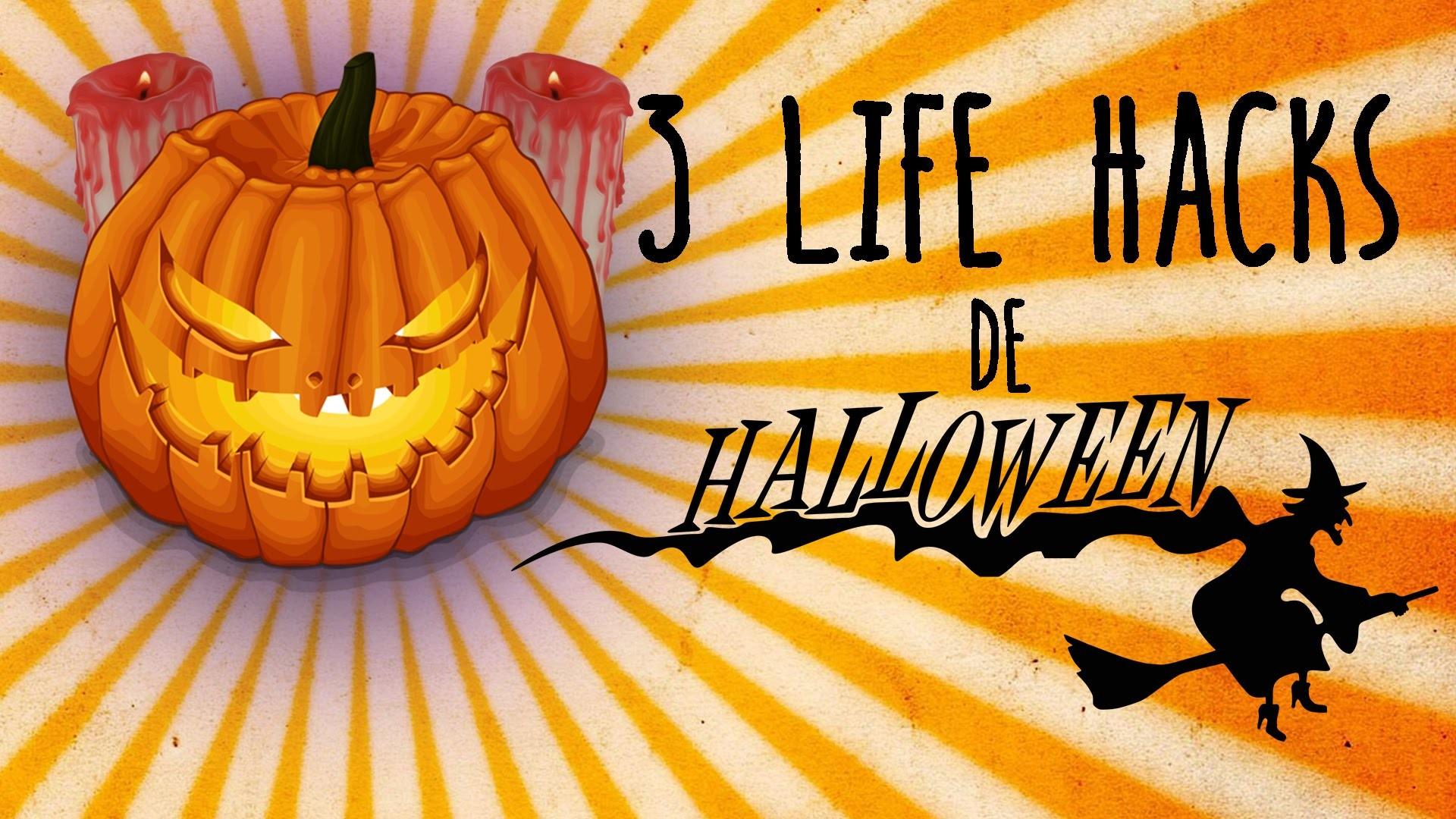 3 Life Hacks para tu fiesta de Halloween