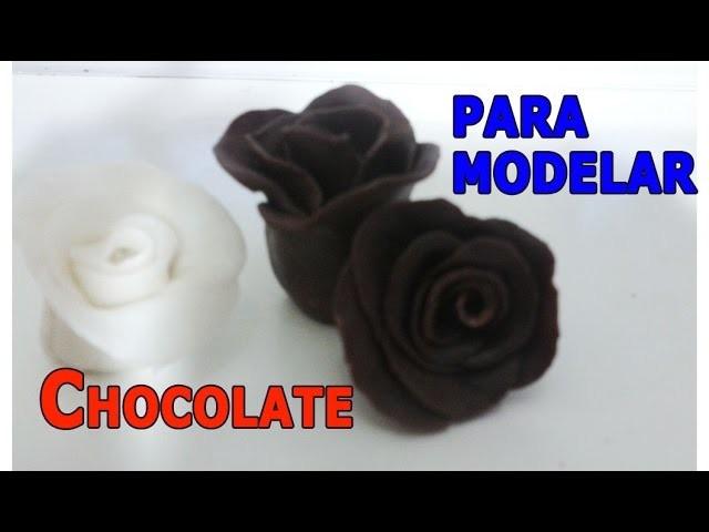Chocolate para modelar