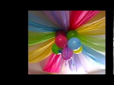 ¿Cómo decorar para una fiesta de cumpleaños?