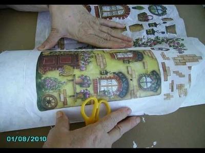 Cómo decorar tejas (1)