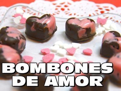 COMO HACER BOMBONES DE CHOCOLATE Y GALLETAS PARA SAN VALENTIN