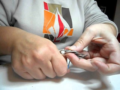 Cómo hacer broches con anillas de latas