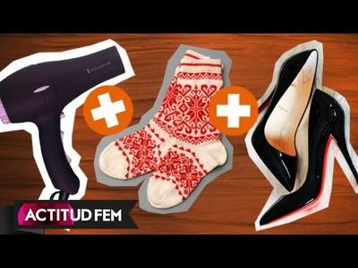 Cómo hacer grandes los zapatos que aprietan  | ActitudFem