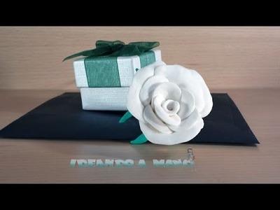Cómo hacer rosas con pasta de modelar