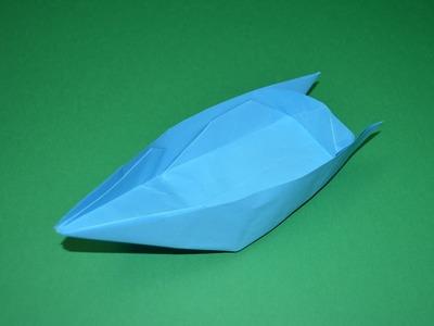 Como hacer un barco de papel origami