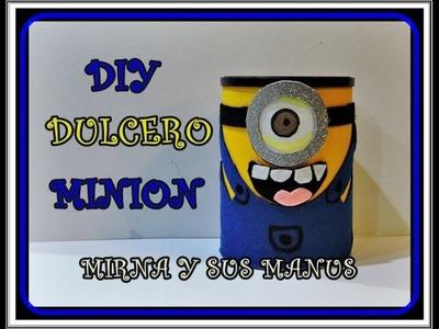 Diy. Dulcero Minion.  Minion candy box
