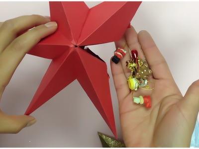 Estrellas de papel(cajita o decoración)