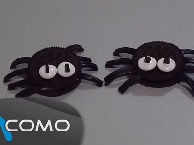 Hacer arañas de Oreo