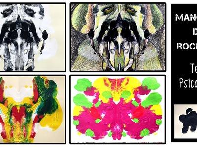 Manchas o láminas de Rorschach * ¡Adivina qué forma es!