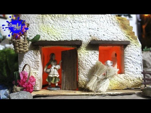 Manualidades - Como hacer un pesebre de navidad - How to make a Christmas pesebre