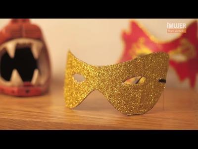 Máscaras de papel maché | Cómo hacer un antifaz | @iMujerHogar