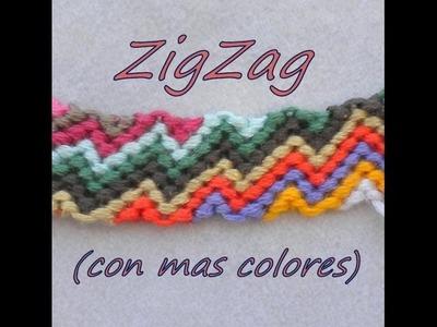 Pulsera de Hilo: ZigZag (mas colores)