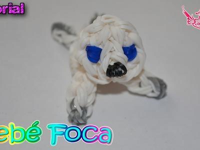 ♥ Tutorial: Bebé Foca en 3D (sin telar) ♥