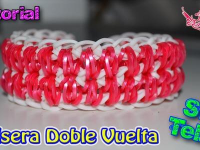 ♥ Tutorial: Pulseras Doble Vuelta (sin telar) ♥