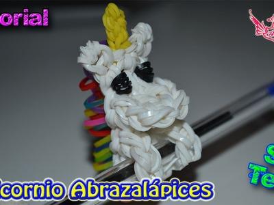 ♥ Tutorial: Unicornio Abrazalápices de gomitas (sin telar) ♥