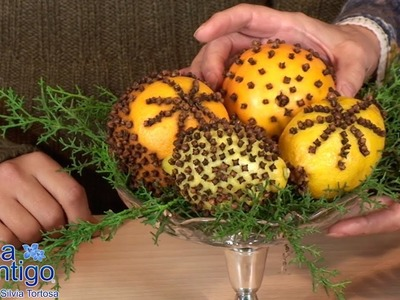 Ambientador Natural Pomander o Manualidad Diferente para Aromatizar