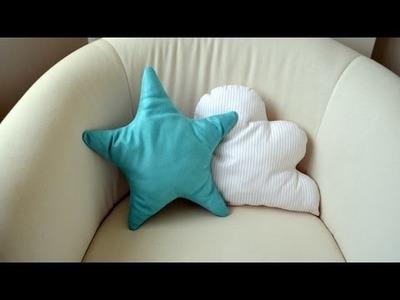 Cojín con forma de estrella - Star pillow