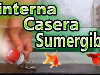 Como Hacer una Mini Linterna  a Prueba de Agua Casera
